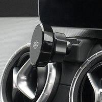 Suporte magnético do telefone móvel para mercedes benz cla toda a classe suporte de montagem do respiradouro de ar suporte do telefone para cla c117 w117 2016 a 2019|Molduras interiores|   -
