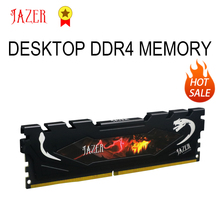 JAZER Computer Memoria 8Gb Ddr4 4Gb 16Gb Pc4 2400Mhz Ram Desktop Memory With Heat Sink