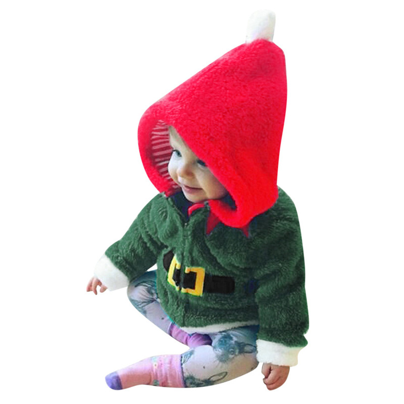 Outfits Hoodie Fleece Baby-Boys-Girls Clothing Pullover Christmas Children's XMAS Telotuny