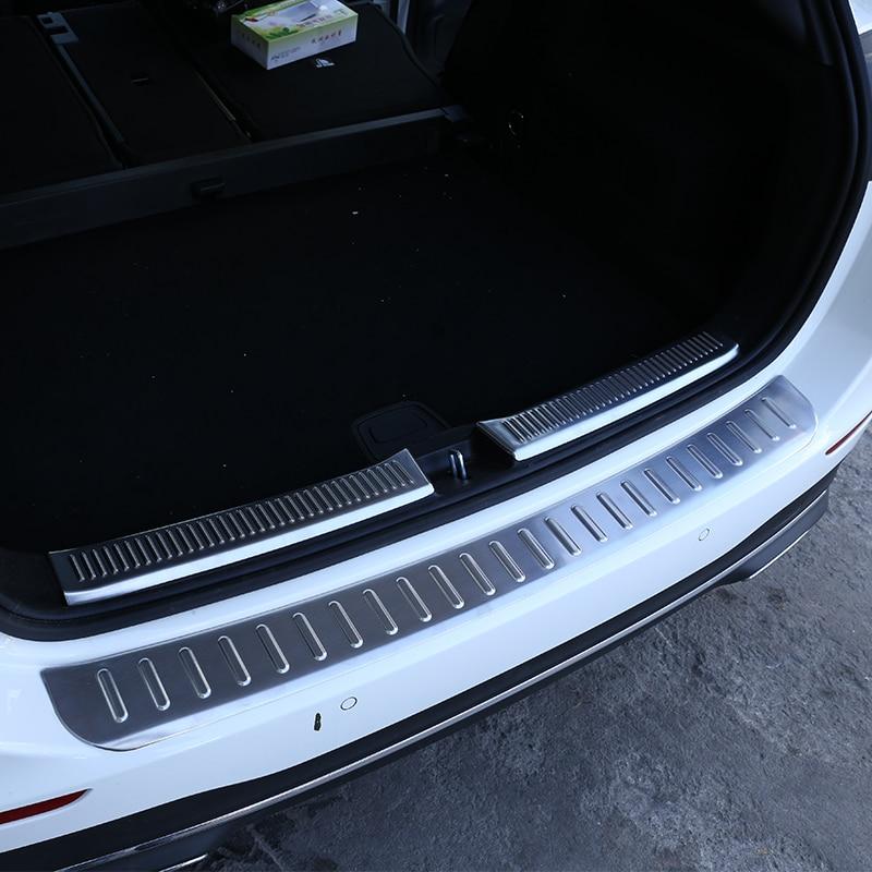 Mercedes-Benz W212 Sedan 4dr E-Class 10-15 Rear Bumper Protector Sill plate