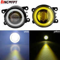 2x Engel Augen Nebel Licht LED lampe H11 Für Fokus MK2/3 Fusion Fiesta MK7 Für 2010-2015 ford Grand C-Max MPV Für Ford EcoSport