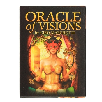 Oracle of Visions Full English 52 Cards Deck Tarot Divination Fate Board Game 24BD недорого