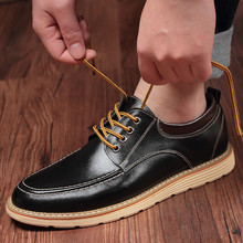 6CM Invisible Elevator Shoes for Men Genuine Leather Casual 2019 Spring Fashion Popular Business Dress