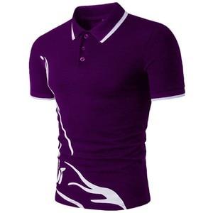 Image 3 - ZOGAA Männer 2019 Sommer Mode Camisa Polo Shirts Hohe Qualität Kurzarm Herren Polo Shirt Marken Atmungsaktiv Marke T Tops