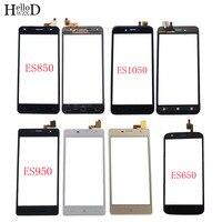 Tela de toque móvel para dexp ixion es650 es850 es950 es1050 digitador da lente do painel sensor vidro fornt tela sensível ao toque