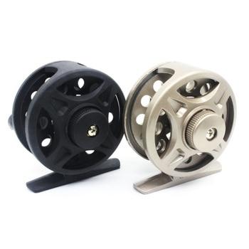 1PCS Winter Fishing Plastic Ice Fishing Reel Right/Left Handed Raft Wheel Ice Fishing Vessel Wheel Ultra-light