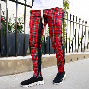 Jogger Pants Trousers Tight Full-Sportswear Stretch Fitness Men's Cotton Casual
