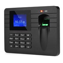 Посещаемость рекордер машина 24in ЖК экран отпечаток пальца