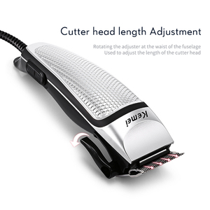 Image 4 - Profesyonel saç kesme makinesi erkekler elektrikli saç düzeltici ev düşük gürültü saç kesimi tıraş makinesi 220 240V Styling aracı 40D