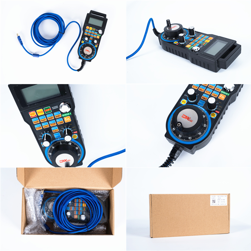 Cnc Maniglia Usb Wired Sistema di Controllo Mach3 Volantino Elettronico LHB04B 4/6 di Controllo per Cnc di Fresatura - 3