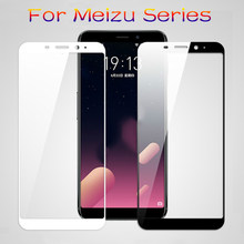 Protective Glass Case On For Meizu Maisie m6 m3 m5 Note m3s m5s m5c Pro 7 Tempered Glas Pro7 m 5 6 Not m5note m6note Cover Film(China)