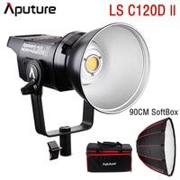Aputure LS C120d II LED Video COB Light Outdoor Studio Video Photography Lighting & Pergear LAOFAS Deep Parabolic Softbox