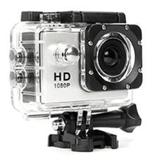 480P دراجة نارية داش الرياضة عمل كاميرا فيديو للدراجات النارية Dvr كامل Hd 30M مقاوم للماء ، والفضة