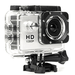 Image 1 - 480P Motorcycle Dash Sports Action Video Camera Motorcycle Dvr Full Hd 30M Waterproof,Silver