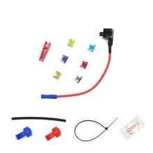 6PCS/Set Mini Size Car Fuse Holder Add-a-circuit Fuse TAP Adapter 12V Car Add-a-circuit Fuse Adapter Fuse Holder