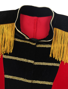 Image 4 - Kids Boys Children Circus Ringmaster Costume Fringes Gold Trimmings Tailcoat Jacket for Halloween Cosplay Carnival Clothes