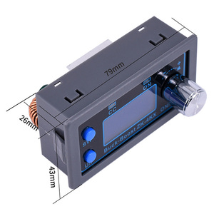 Image 4 - ZK 4KX Cnc Dc Dc Buck Boost Converter Cc Cv 0.5 30V 4A Power Module Verstelbare Gestabiliseerde Voeding voor Solar Batterij Opladen