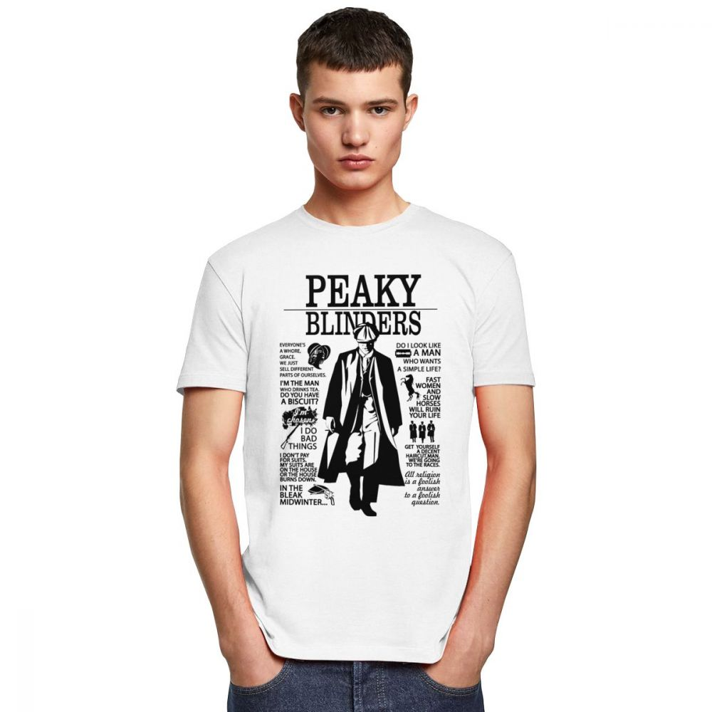 T-shirt Peaky Blinders Frères Shelby