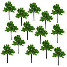 Model iron wire tree height 5cm sand table model material scene making supplier