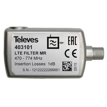 Filtro LTE 4G-LTE F Channel 21-60