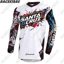 Джерси для мотокросса SANTA CRUZ, Майки для горнолыжного спорта, одежда для горных велосипедов MTB MX, одежда для мотоциклов и горных велосипедов, Д...