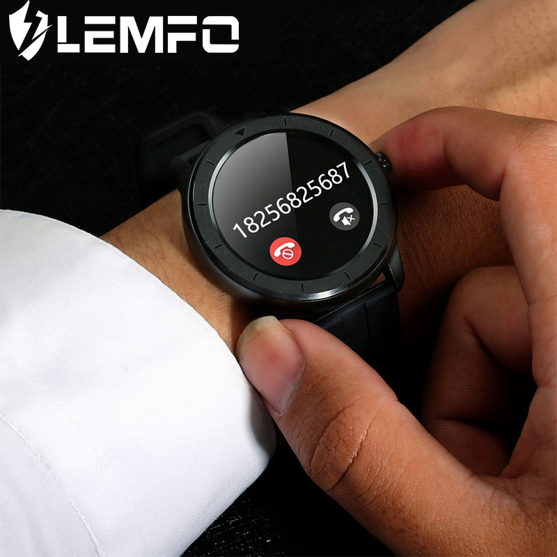 LEMFO  Smart Watch Men Women Full Touch Screen Custom Heart Rate Monitor Message Reminder Health Sport Tracker Smartwatch T6