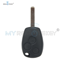 Remtekey Remote key 3 button VA6 PCF7947 ASK for Renault Clio Kangoo Modus Master Twingo key whatskey 1 button remote car key shell fob case cover for renault twingo clio master scenic kangoo vac102 blade replacement