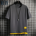 Mode Marke Hip Hop Männer T-Shirts 2021 Sommer männer T-shirt Neue Casual Solide T-shirts Straße Marke Kleidung Männer t Shirts Tops