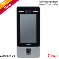 Dahua Standalone Face Recognition Access Controller 7 Inch IPS Display Resolution 1024×600 2MP Wide Angle WDR Lens for Intercoms