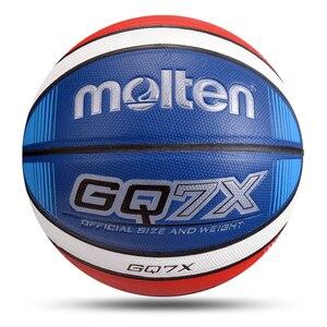 Image 1 - Uomini Palla Da Basket Formato Ufficiale di trasporto 7/6/5 Cuoio DELLUNITÀ di elaborazione Esterna Interna di Alta Qualità Partita di Formazione Donne Bambino Basket baloncesto