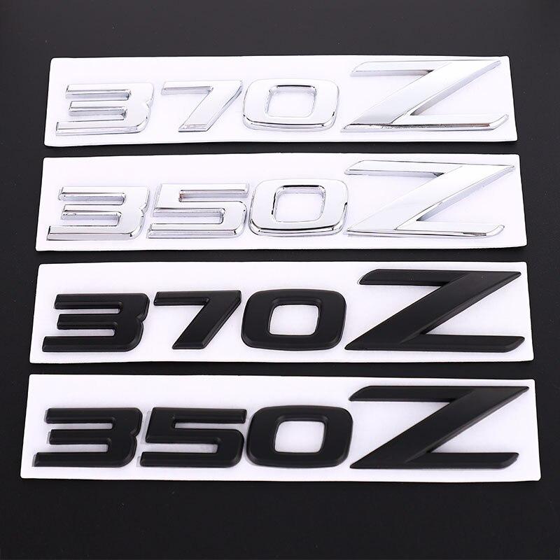NISSAN 350 Z  FIT 2003-2005  NEW STYLE LOGO Z EMBLEM GRAY /& BLACK CARBON FIBER