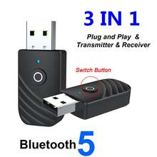 3 в 1 bluetooth аудио адаптер компьютерные наушники Динамик