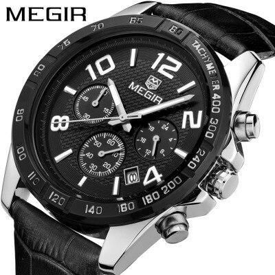 Новый список мужской роскошный бренд часов кварцевые часы модные кожаные часы спортивные водонепроницаемые ударопрочные наручные часы му