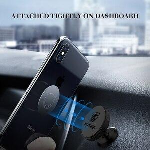Image 4 - Metrans מגנטי מכונית טלפון בעל עבור iPhone 360 תואר סיבוב האוויר Vent מחזיק רכב הר טלפון Stand suporte celular paracarro
