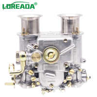 Carburador 40MM nuevo 40 DCOE 40 DCOE carburador Weber Assy para Twin Choke 4, 6Cyl 2013-2018 todos los motores VW V8 1975 Alfa Romeo BMW
