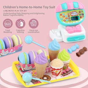 Cash Register Simulation-Pretend Birthday-Gift Play Mini Supermarket Kids Home Children