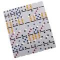 Doppel Sechs Domino Set Traditionelle Brettspiel Spielzeug Zinn Box Farbe Dot #2