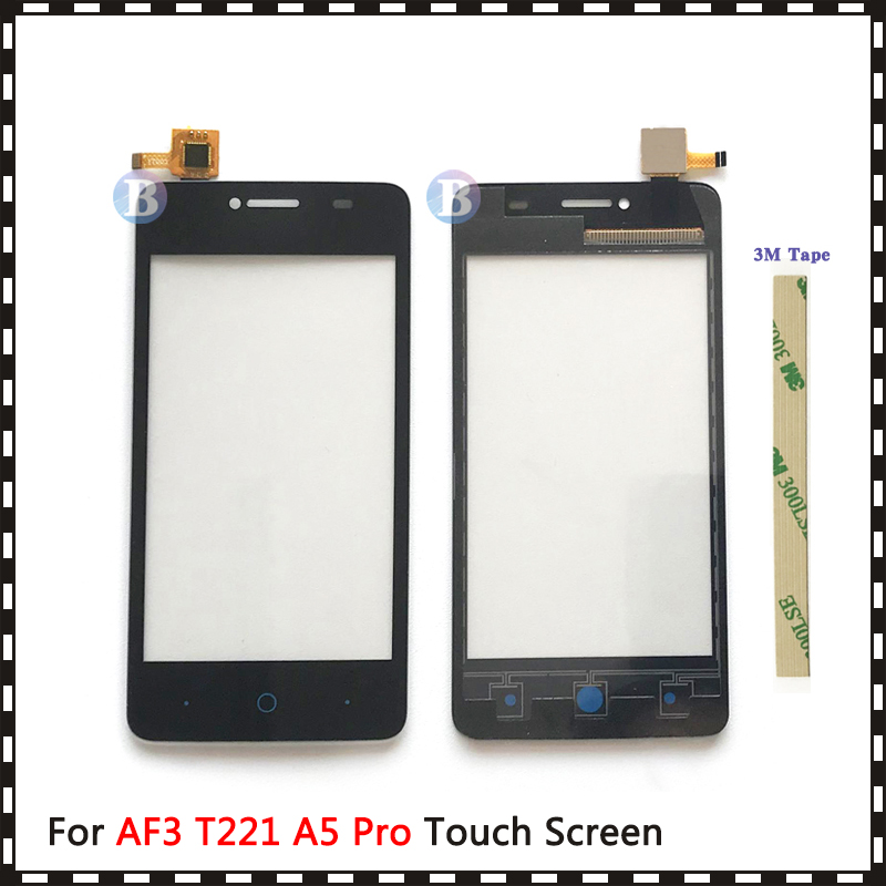 Replacement High Quality 4.0 For ZTE Blade AF3 T221 A5 Pro Touch Screen Digitizer Sensor Outer Glass Lens Panel image