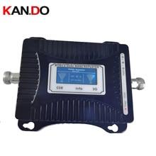 安い 2 グラム + 3 3g リピータ 55dbi lcd ディスプレイデュアルバンド gsm 3 グラムブースターリピータ DCS 900 2100mhz 3 グラムブースター gsm 3 グラム