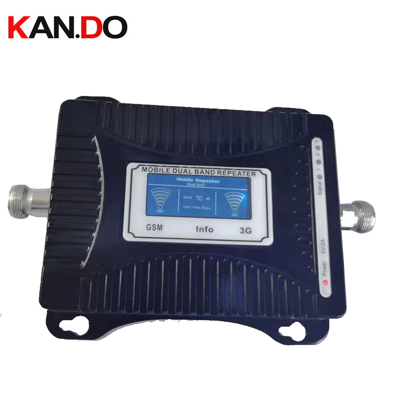 Cheap 2G+3G Repeater 55dbi LCD Display Dual Bands GSM 3g Booster Repeater DCS 900 2100mhz 3g Booster Gsm 3g