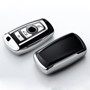 Image 2 - عالية الجودة بولي Chrome كروم سيارة مفتاح غطاء مفتاح حقيبة صالح لسيارات BMW X3 X4 X5 X6 1/3/5/7 سلسلة M3 مفتاح قذيفة حامي السيارات مفتاح سلاسل