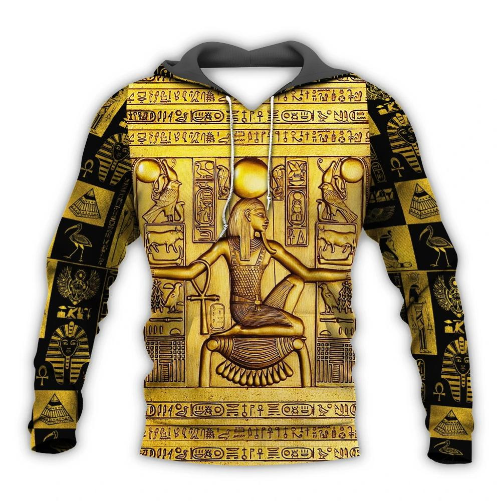 PLstar Cosmos Mysterious Retro Ancient Egypt Pharaoh Totem 3d Hoodies/Sweatshirt Winter Autumn Funny Long Selvee Streetwear-2