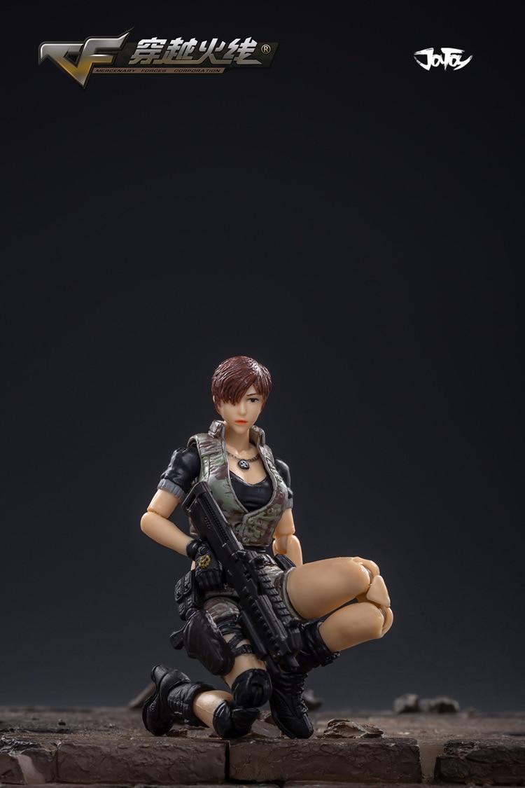 crossfire jogo fêmea fonte soldado figura modelo