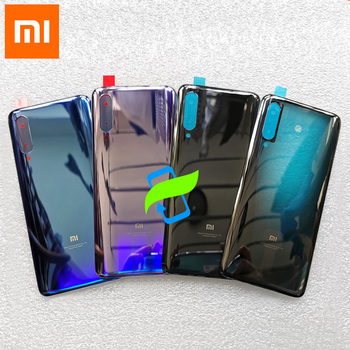 Xiaomi Mi 9 Mi9 Back Battery Cover Back Housing 3D Glass Cover Case For XIAOMI Mi 9 Rear Door Back Cover