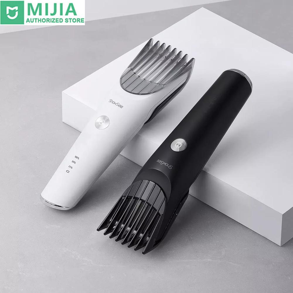 2020 New Xiaomi Showsee 700mAh 5000rpm Electric Hair Clipper Wireless Type C Fast Charge IPX7 Waterproof Ceramic Steel Cutter|Hair Trimmers|   - AliExpress