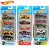 Hot Wheels Original 5pcs/set Diecast 1:64 Metal Batman Mini Model Car Kids Toys for Children Oyuncak Araba Hotwheels Boys Gift