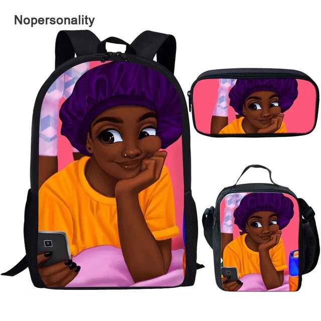 Purple Bonnet Beauty 3pcs Backpack set