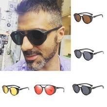 Gafas de sol Unisex populares para mujer, gafas a la moda para hombre y mujer, gafas con montura irregular de Metal, gafas de sol clásicas de marca