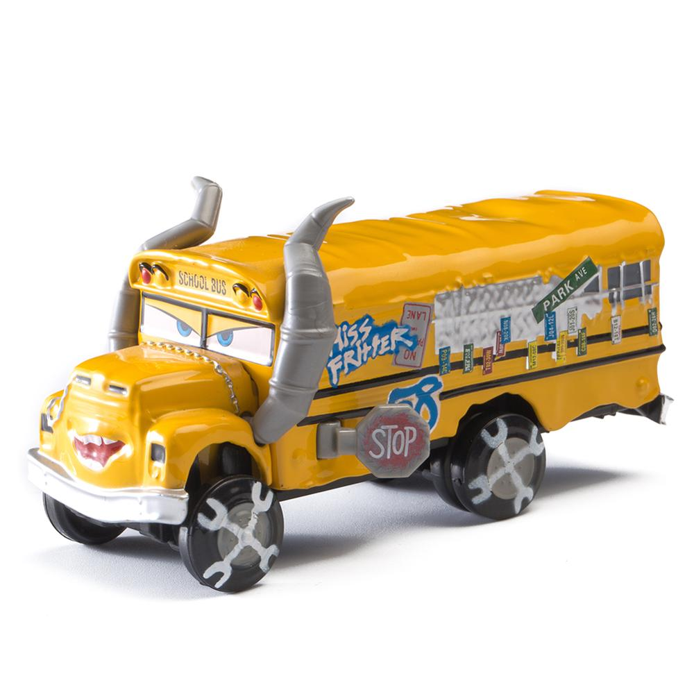 No.136-162 Disney Pixar Cars 3 2 1 METAL Diecast Cars 1:55 Rare Car Collection Toys For Children Boys Royal Police Truck Mater