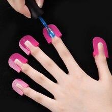 26 sztuk/zestaw 10 rozmiary G kształt krzywej paznokci Protector lakier tarcza osłona palca odporne na zalanie francuski naklejki Manicure narzędzia do paznokci